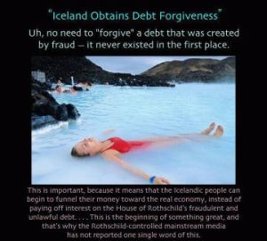 Iceland obtains Debt Forgiveness